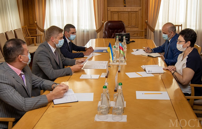 Dnipropetrovsk region will collaborate with Azerbaijan