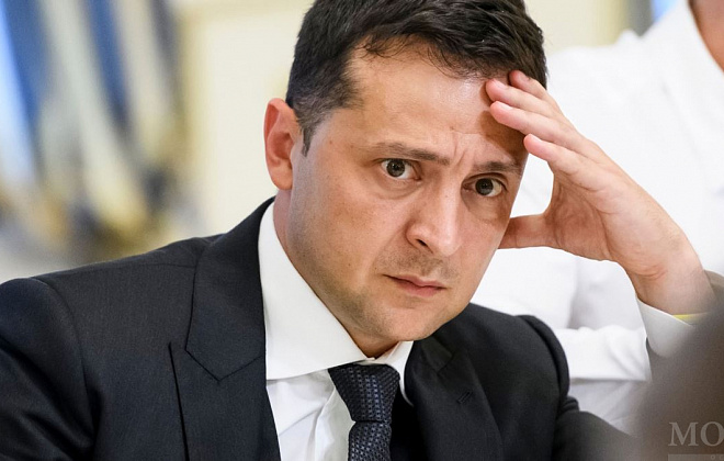 Ukrainian president Zelenskiy has over 50% of electoral anti-rating